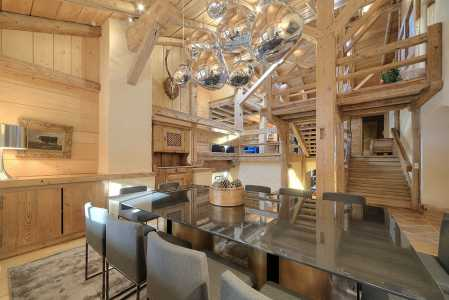 Private chalet, MEGEVE - Ref 48201